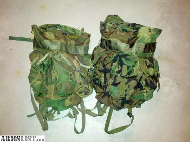 how to attach straps to alice pack without frame