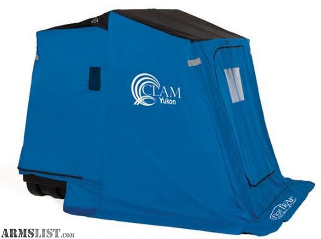 Armslist for sale 2 person portable ice fishing house for Ice fishing sale