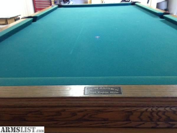 Olhausen Pool Table Review Open to hear any firearm trade offers. Also interested in a nice ...