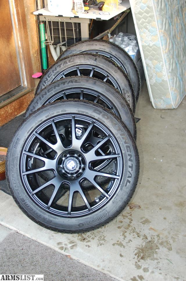 """Will These Tires Fit My Car >> ARMSLIST - For Sale: 17"""" rims 5x114.3 . 235/45/17 tires. Acura, Hond,Toyota, Mazda, Ford"""
