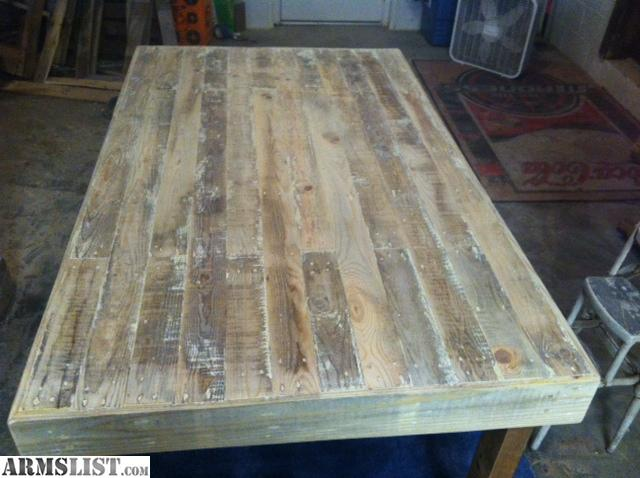 armslist for sale reclaimed pallet kitchen table. Black Bedroom Furniture Sets. Home Design Ideas