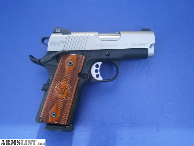Springfield 1911a1 emp httpwwwkyguncocomspringfield 1911 a1 emp apps