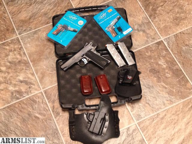 Armslist for sale trade kimber pro carry ii 1911 package for Pro carry shirt tuck