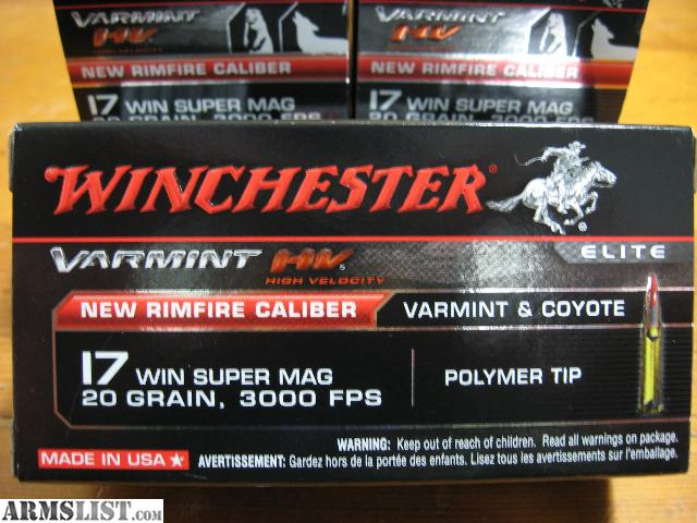 17 Wsm Ammo For Sale Walmart