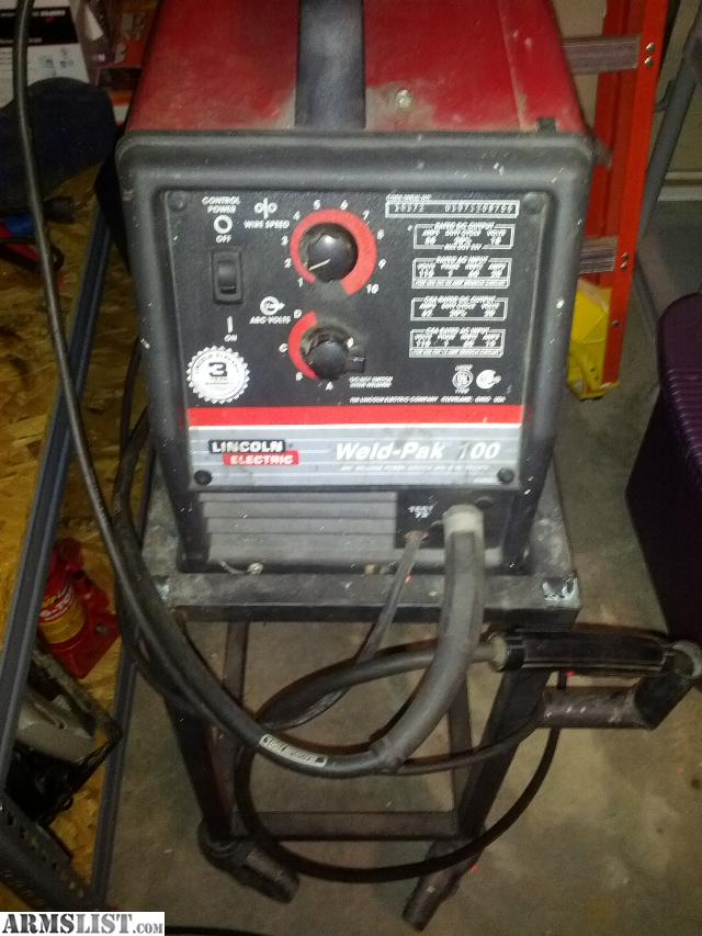 Armslist For Sale Trade Lincoln Electric Weld Pak 100
