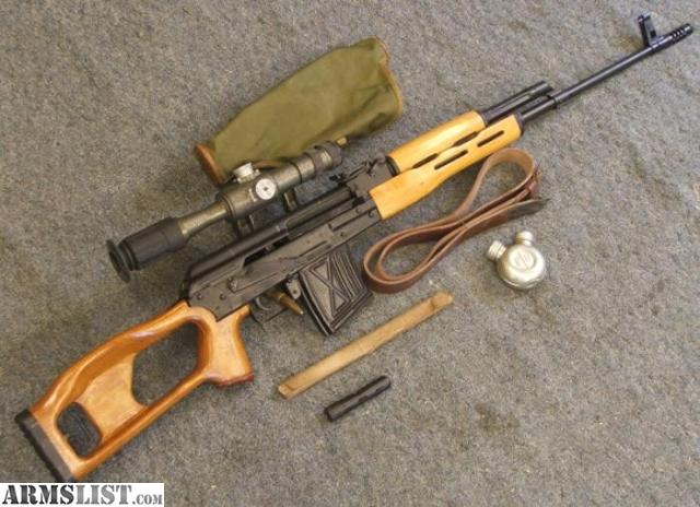 ARMSLIST - For Sale: Dragunov sniper rifle 7.62x54r