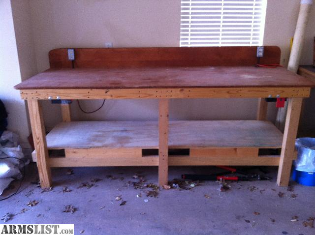 Armslist For Sale Awesome Table For Reloading Gun Cleaning And Work Bench