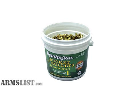22 Lr Ammo For Sale 36 Gr Hollow Point Remington Bucket