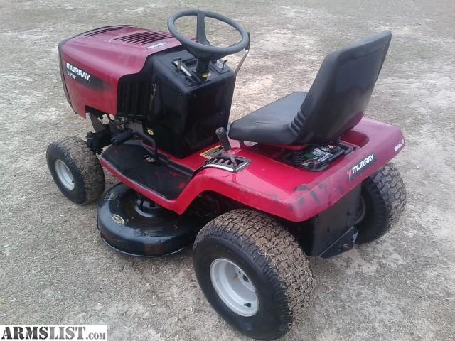 Murray Lawn Mowers New : Armslist for sale murray riding mower
