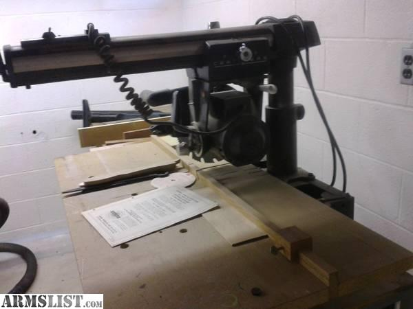 ARMSLIST - For Sale: craftsman radial arm saw 10 inch FOR TRADE
