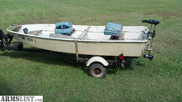 Armslist For Sale 12 Foot Boat Motor And Trailer