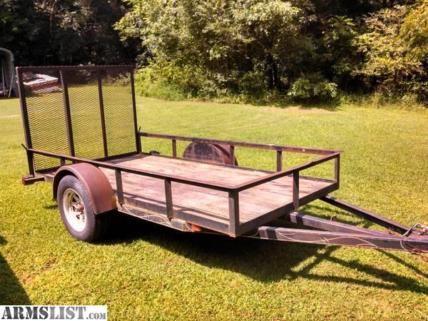 Utility trailers 2014 mission 5x10 utility trailer for 5x10 wood floor trailer
