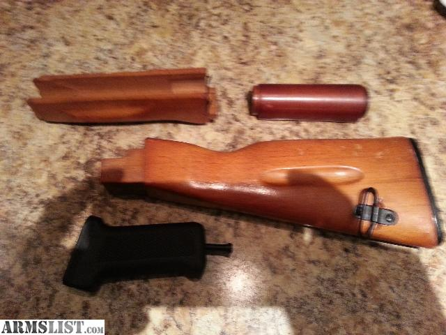 Armslist For Sale Ak74 Stock Wood Furniture Set