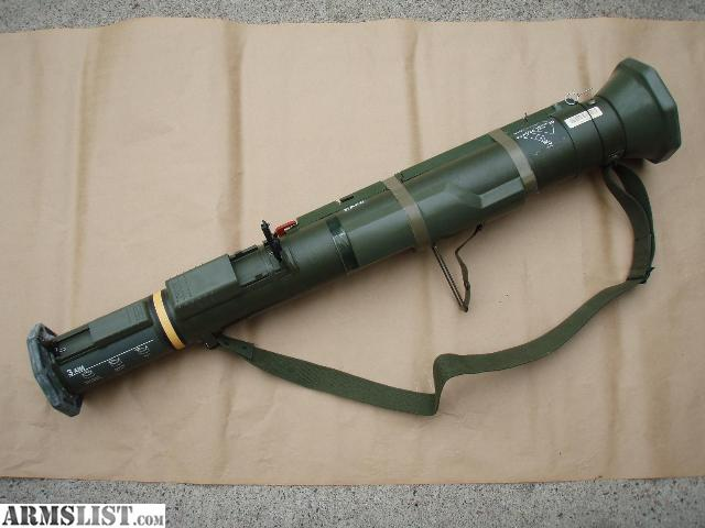 INCLUDES EVERYTHING  Both  M136 At4 Rocket Launcher