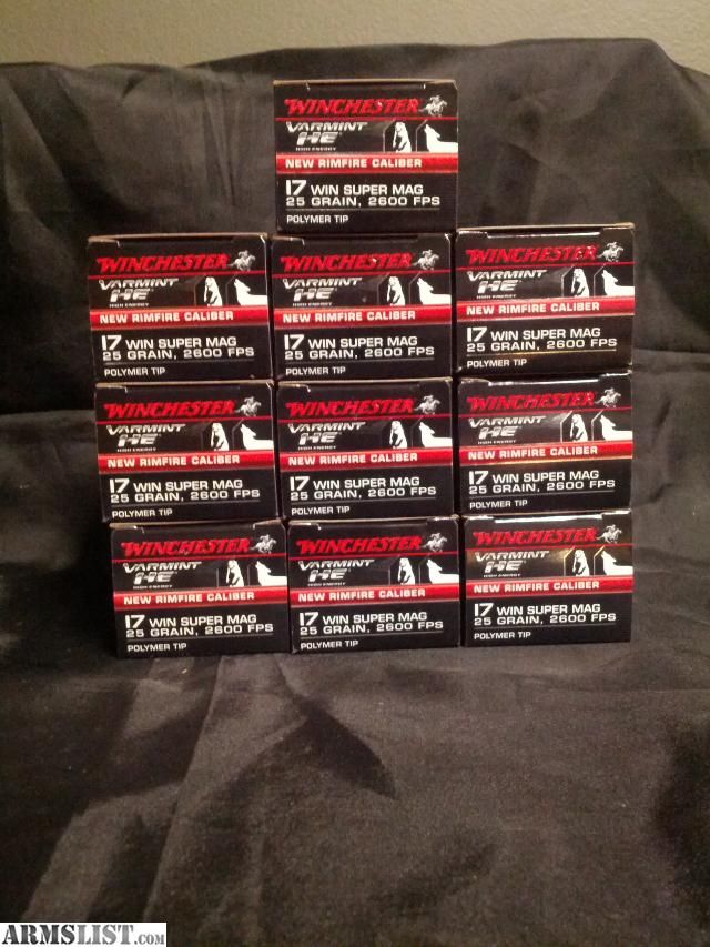 17WSM Ammo for Sale