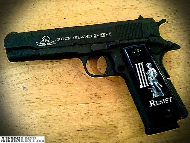 ARMSLIST - For Sale: Rock Island M1911 custom parts 770 obo. M1911 Custom Parts
