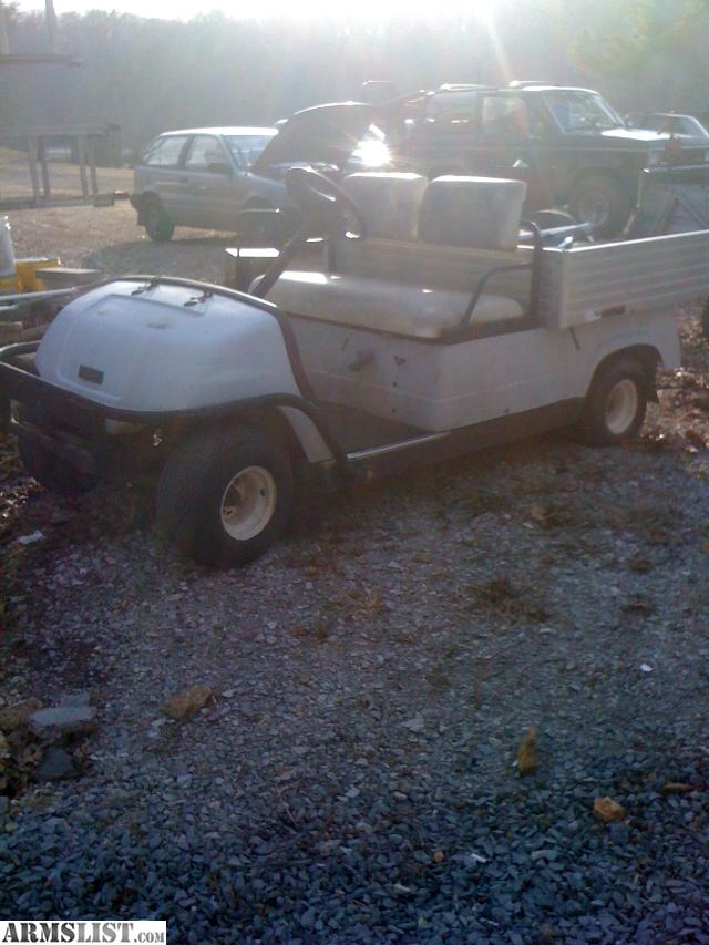 For Sale/Trade: Yamaha gas golf cart Dump Bed Aluminum Utility/ 4000