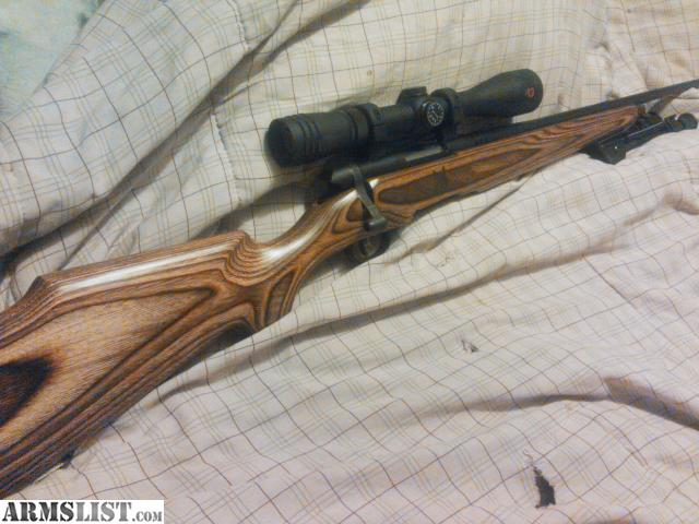 have a like new savage 17 bmag fitted in a Boyds coyote stock with