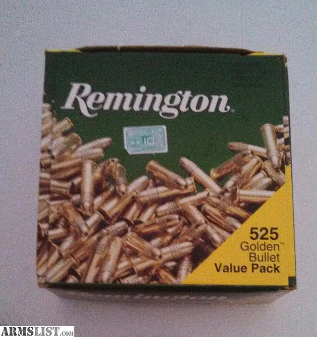 have here one 525 round brick of Remington 22lr Golden Bullets.Price