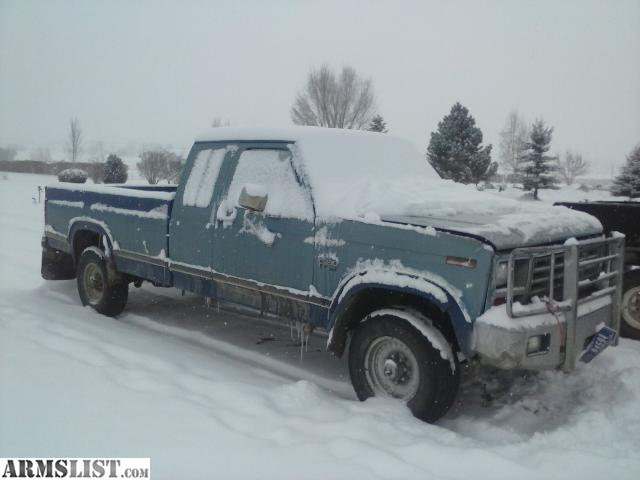 Armslist for sale 86 f250 6 9l international for Bitterroot motors missoula montana