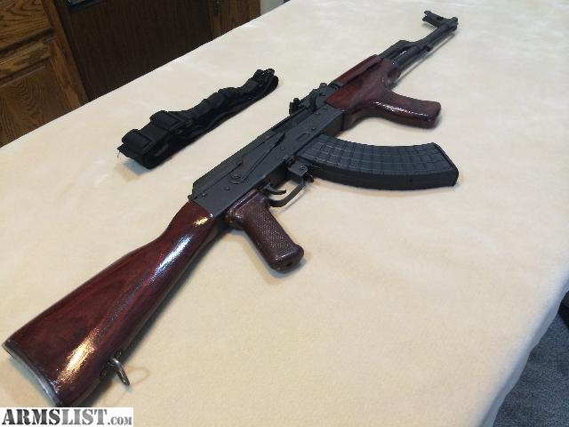 For Sale/Trade: SAR1 AK47 Romanian Red Stained Wood and Plum Grip