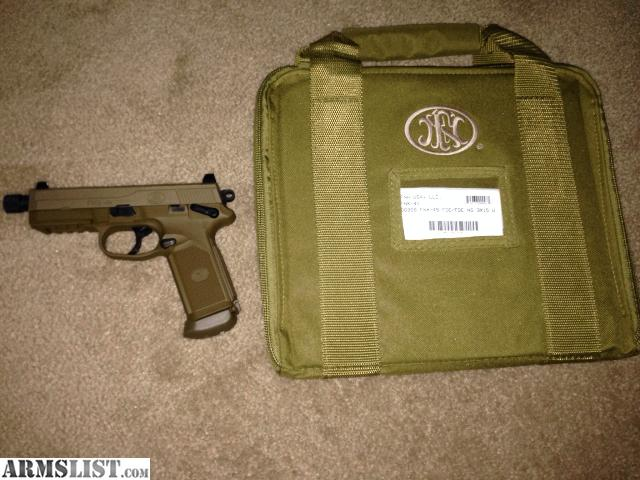 For sale fnh fnx 45 tactical fde