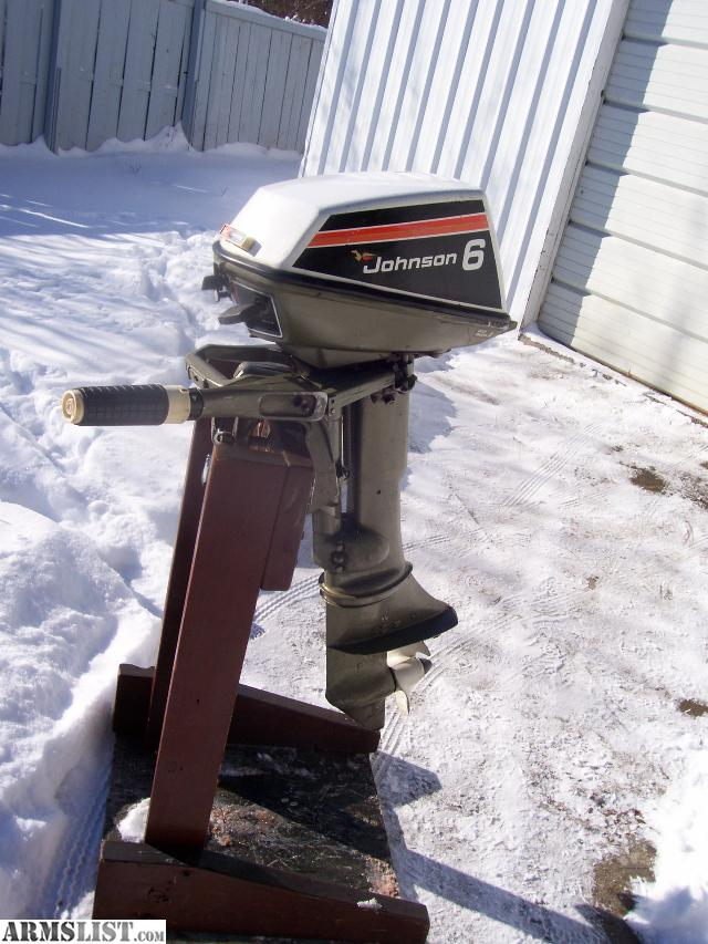 Armslist For Sale Trade Clean Johnson 6hp Outboard