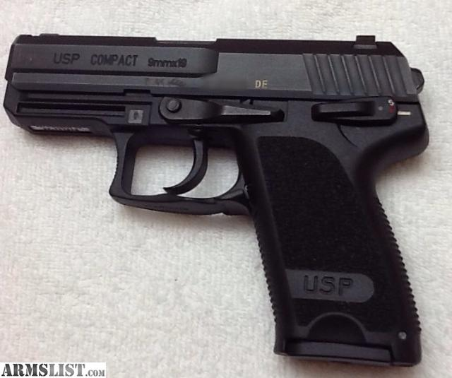 ARMSLIST - For Trade: Hk usp 9mm compact