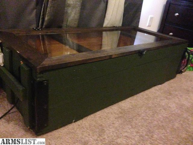 Cookstown (NJ) United States  city pictures gallery : Mosin nagant m 91/30 rifle crate converted into a coffee table. Led ...