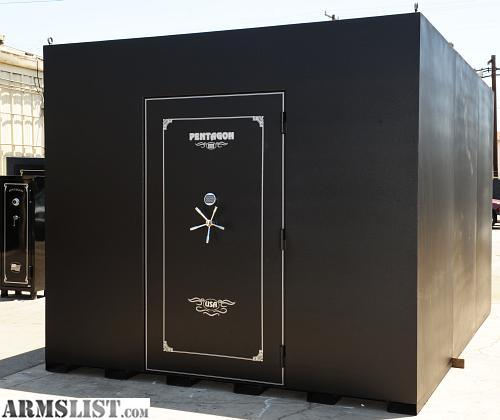 Armslist for sale trade home and business safe rooms for Gun vault room