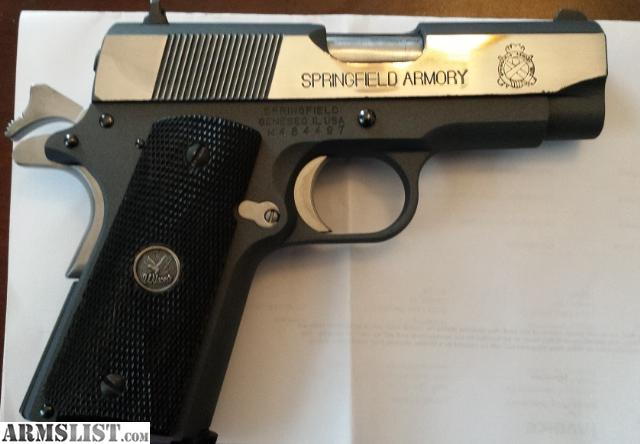Springfield 1911 ultra compact 45 apps directories