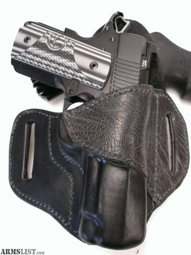 armslist for sale custom leather holsters belts and
