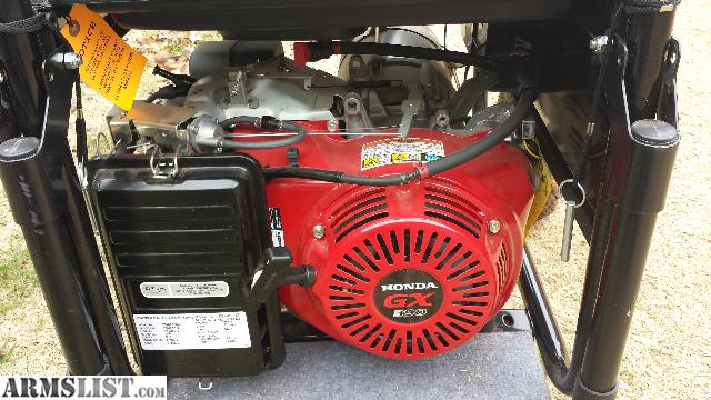 Armslist for sale like new blackmax 8750 watts for Honda gx390 oil capacity