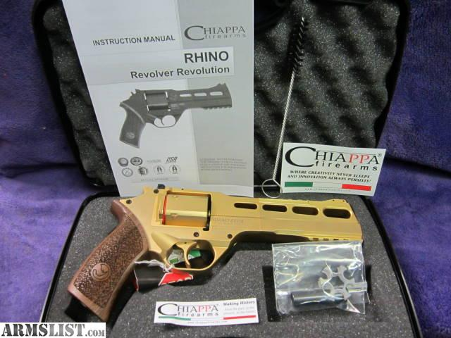 Armslist For Sale New Gold Chiappa Rhino 60ds 35760ds