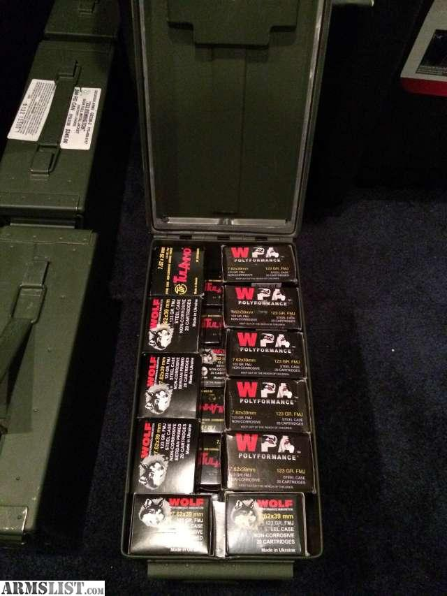 ARMSLIST - For Sale: 5.56/.223 and 7.62x39 for sale in bulk