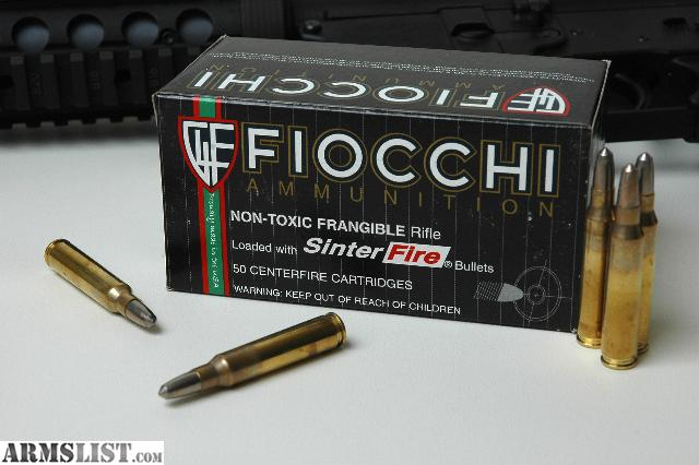 Armslist For Sale New Fiocchi Sinterfire Frangible 223