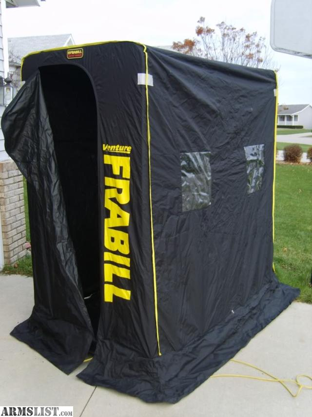 Armslist for sale frabill ice shelter for Frabill ice fishing