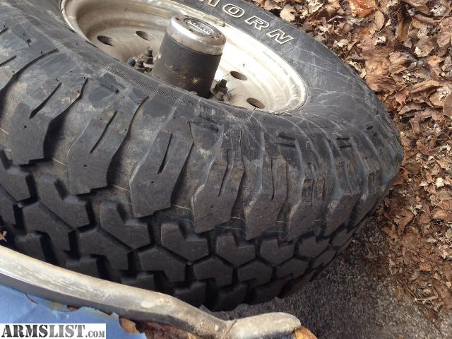 ARMSLIST - For Sale/Trade: 285/75R16 Maxxis Bighorn MT tires