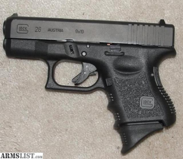 ARMSLIST - For Sale/Trade: Glock 26 9mm