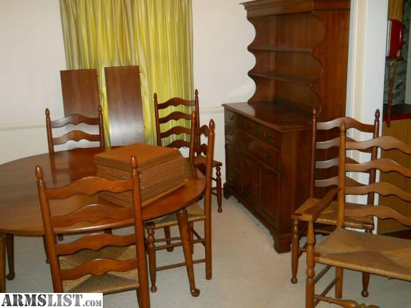 Armslist for sale trade solid cherry dining room suite for Dining room suites for sale