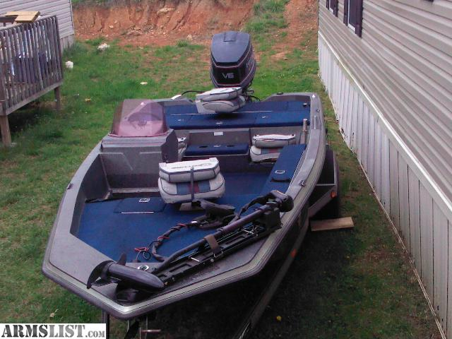 ARMSLIST - For Sale/Trade: nice bass boat