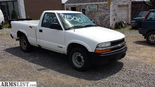 armslist for sale 2002 chevy s10 v6 auto cheap truck. Black Bedroom Furniture Sets. Home Design Ideas