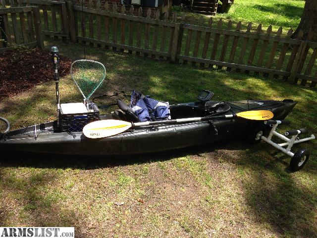 Armslist for sale trade bass pro shop fs12 fishing for Bass pro fishing kayak
