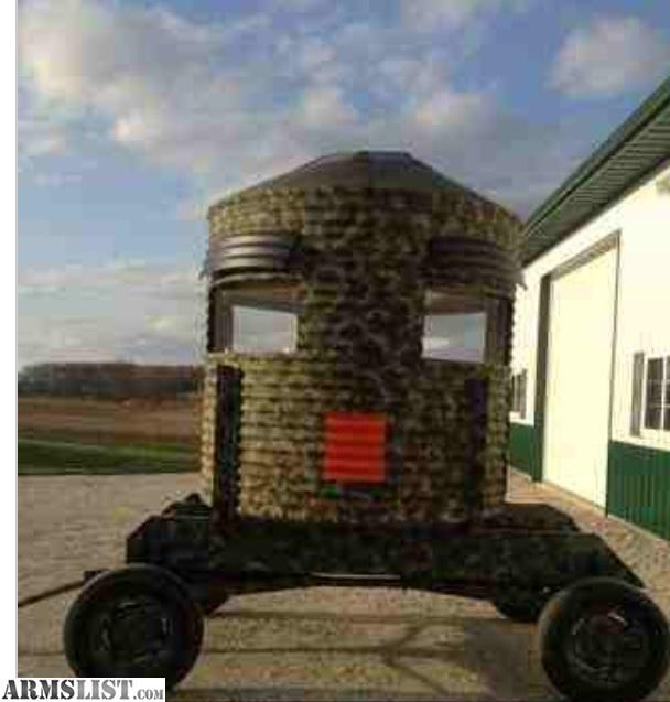 Armslist For Sale Hunting Blind On Wheels