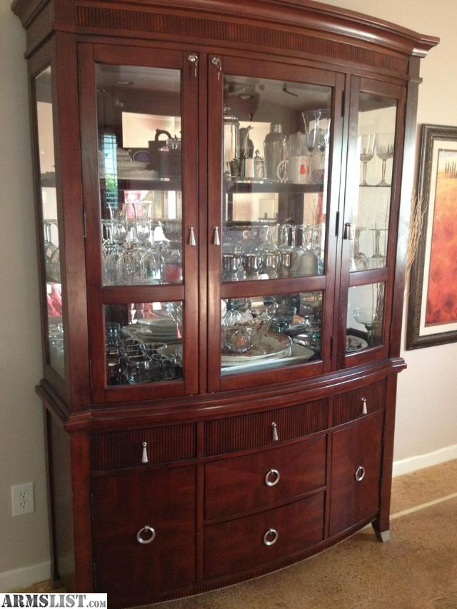 For Sale Trade Dining Room Set China Cabinet And Dresser