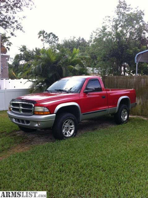 armslist for sale dodge dakota 4x4 truck. Black Bedroom Furniture Sets. Home Design Ideas