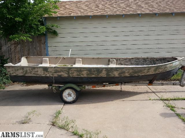 Armslist for sale 14 ft fishing hunting jon boat with for 14 ft fishing boat