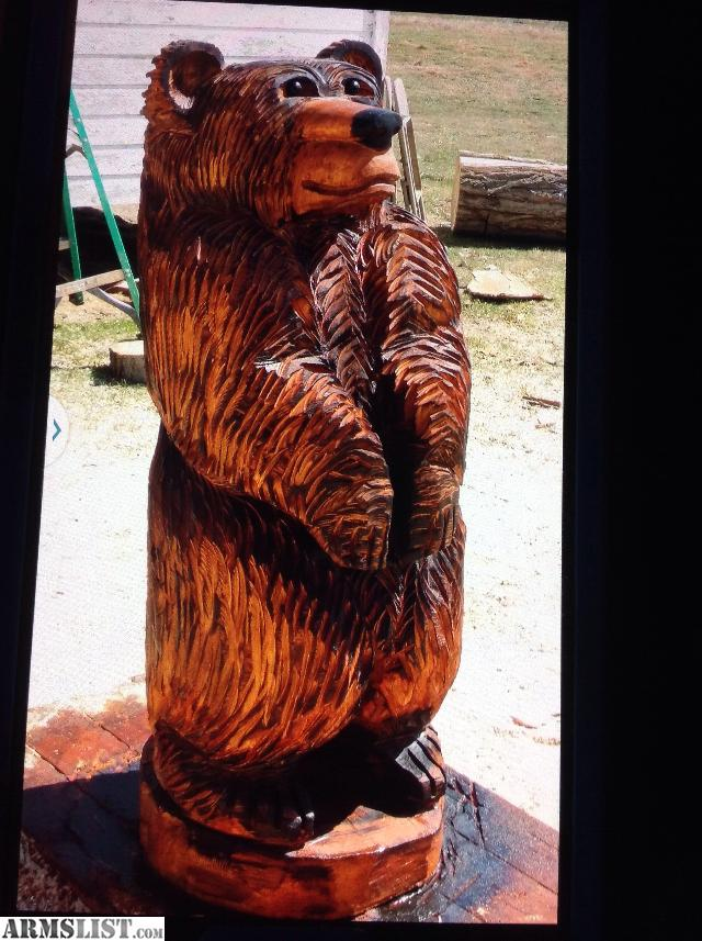 Armslist for sale chainsaw carvings guns