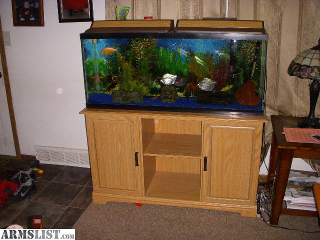 armslist for sale 55 gallon fish tank with stand