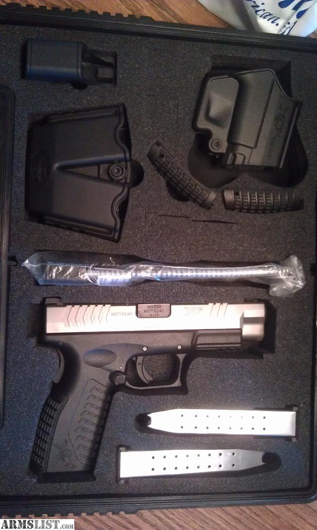 Xdm 9mm Bitone For Sale Springfield Xdm 4.5 9mm Bitone